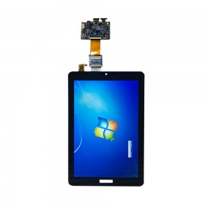 Capacitive touch panel 1200*1920 10.1 inch FHD ips tft LCD screen panel with HDMI to MIPI converting HDMI pcb board
