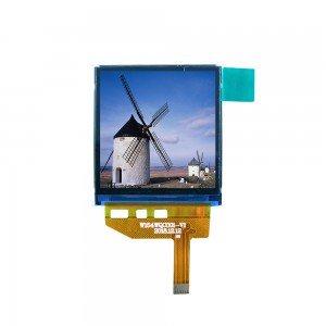 Mini 1.54 inch 320*320 MIPI IPS full viewing angle camera square tft lcd screen