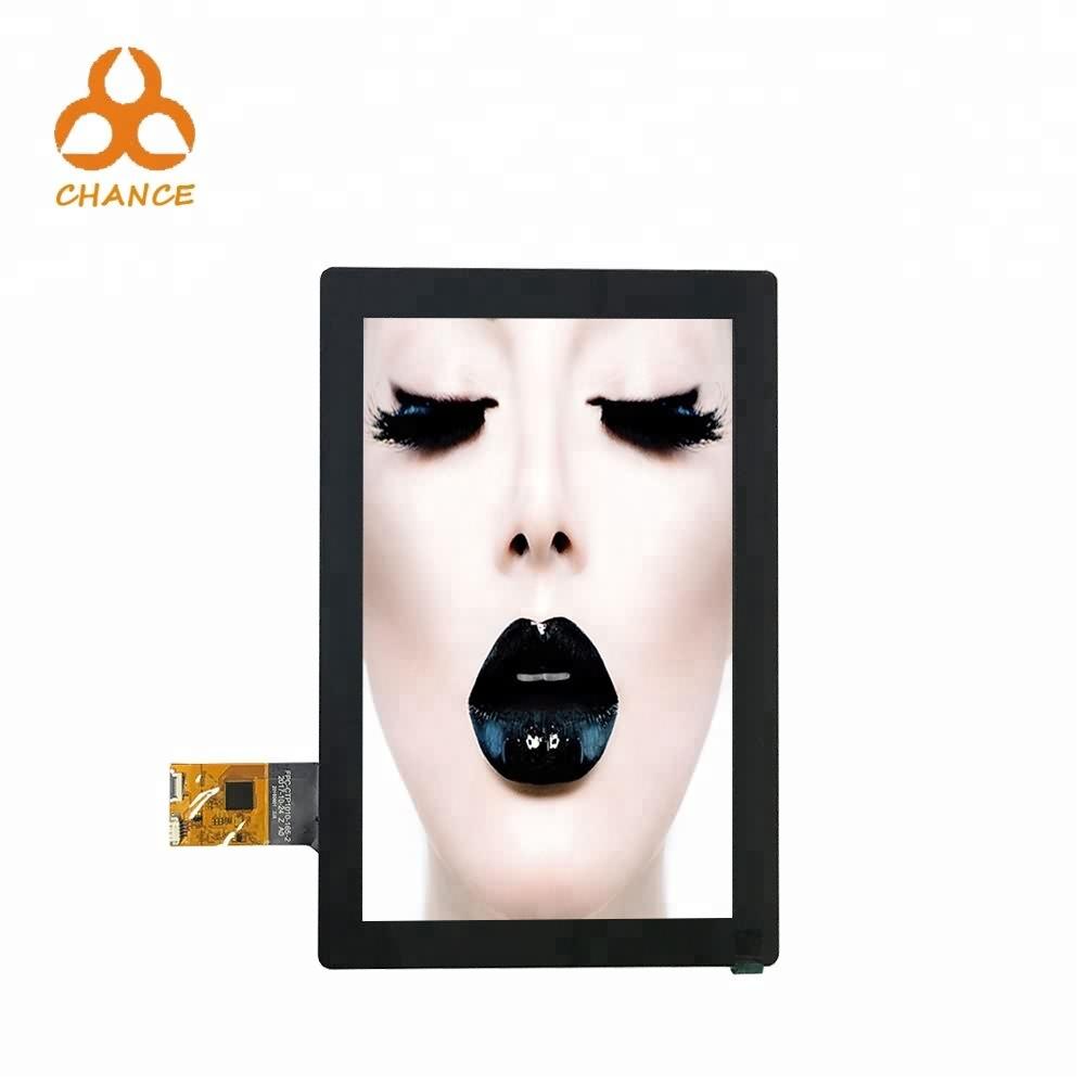 10 polegadas 800 * 1280 MIPI barramento elevador máquina de venda automática ips TFT LCD com o painel de toque capacitivo