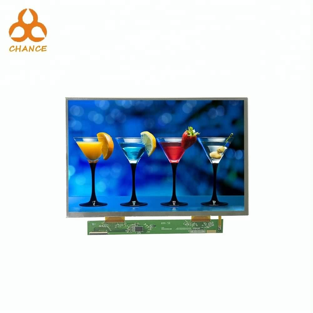 Original 10.1 inch 1280 *3(RGB)* 800 LVDS IPS TFT LCD display with capacitive touch panel