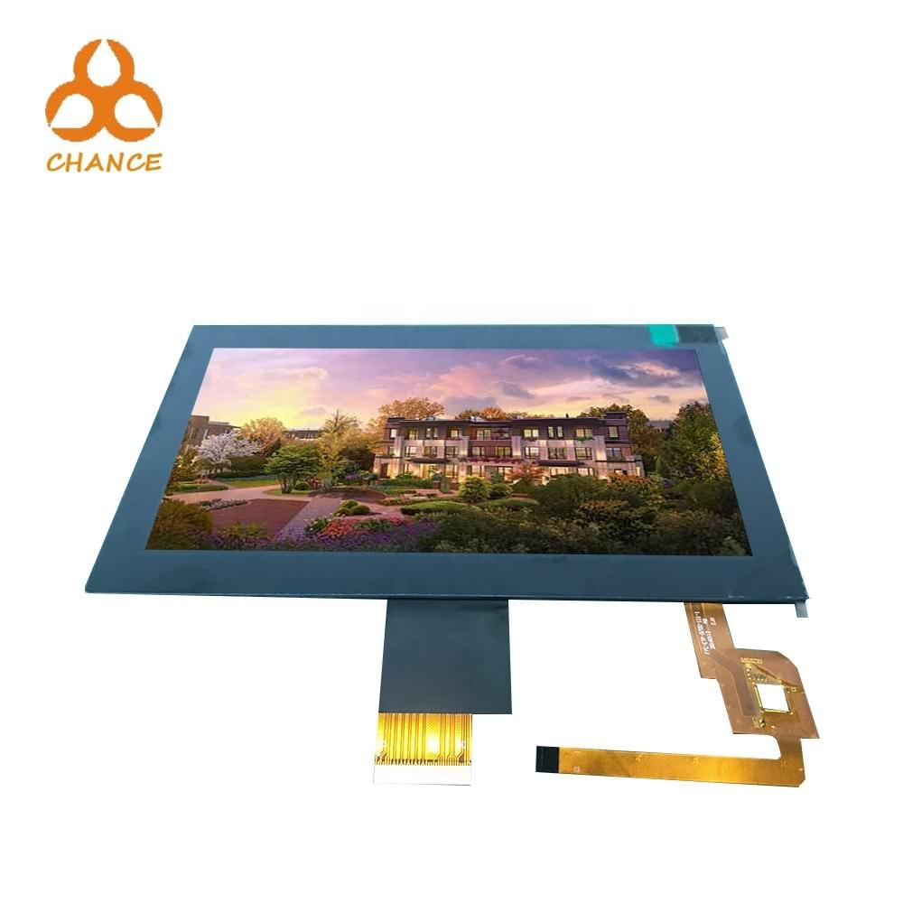 7.0 polegadas 1024 * 600 de interface MIPI LVDS 400nits alta resolução da tela LCD sensível ao toque transparente