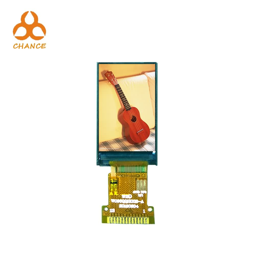 0.96 Inch display 80*160 SPI interface flexible transparent oem ips tft lcd display