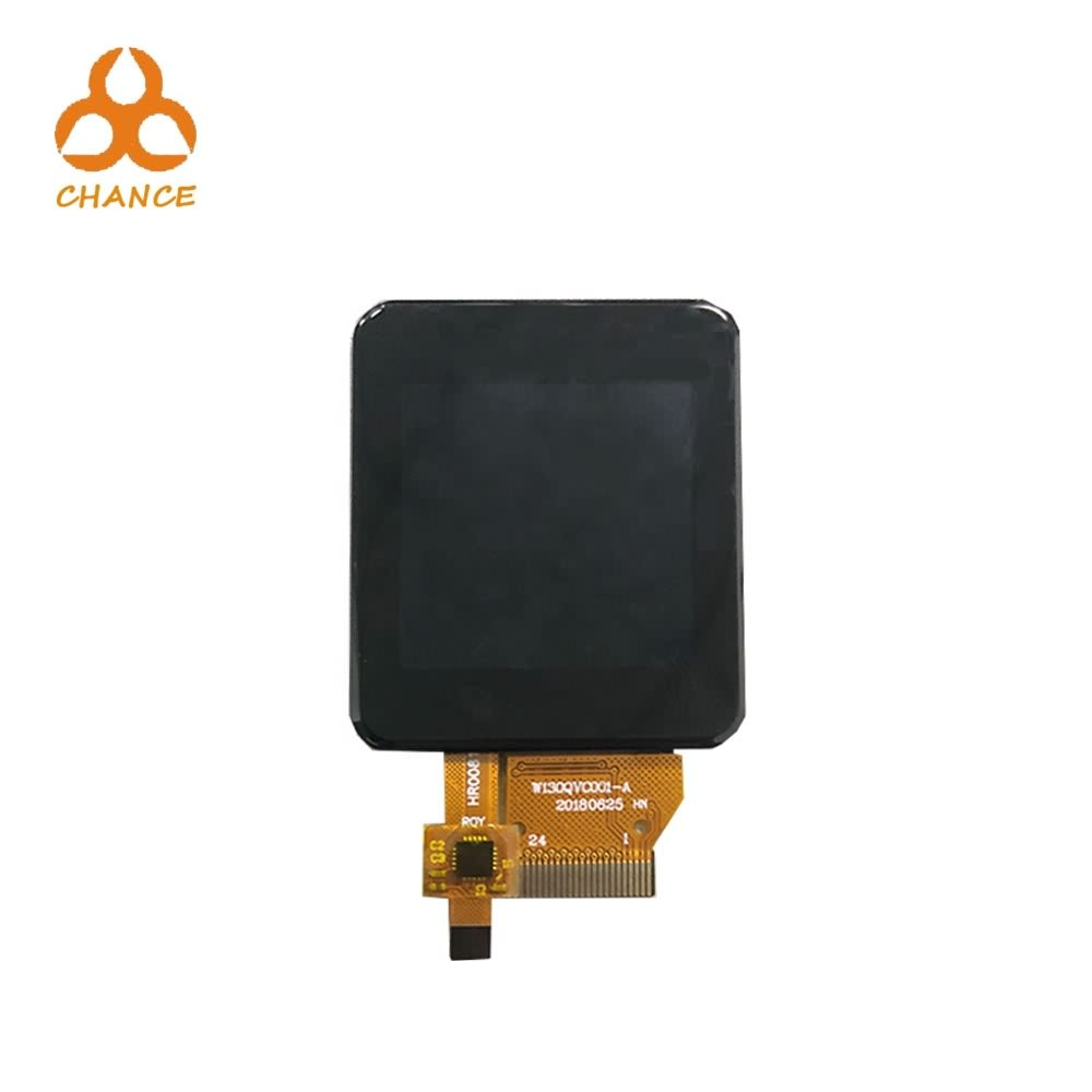 1.3 inch 240*240 small square custom size ips tft lcd module with capacitive touch panel