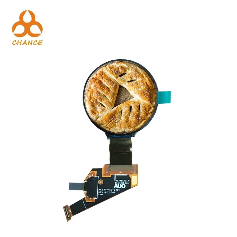 1.39'' 400*400 MIPI flexible round circular OLED display programmable for wearable watch