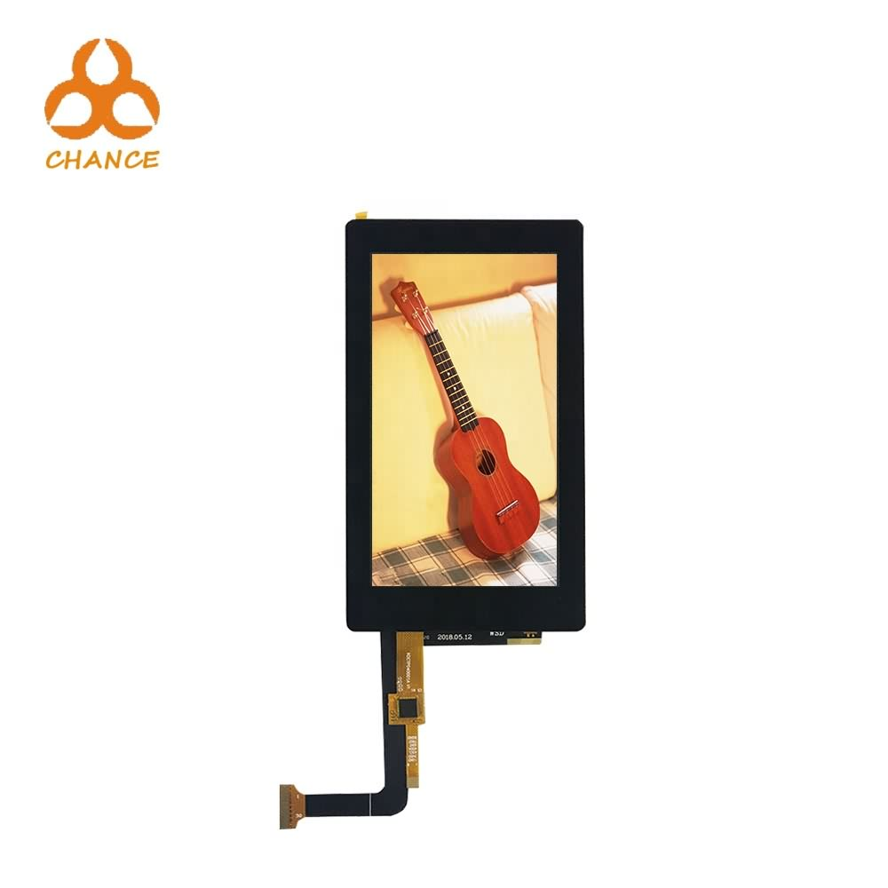 5.0 inch 720*1280 MIPI 4 lane e-bike speedometer car monitor gps tft lcd screen with capacitive touch panel