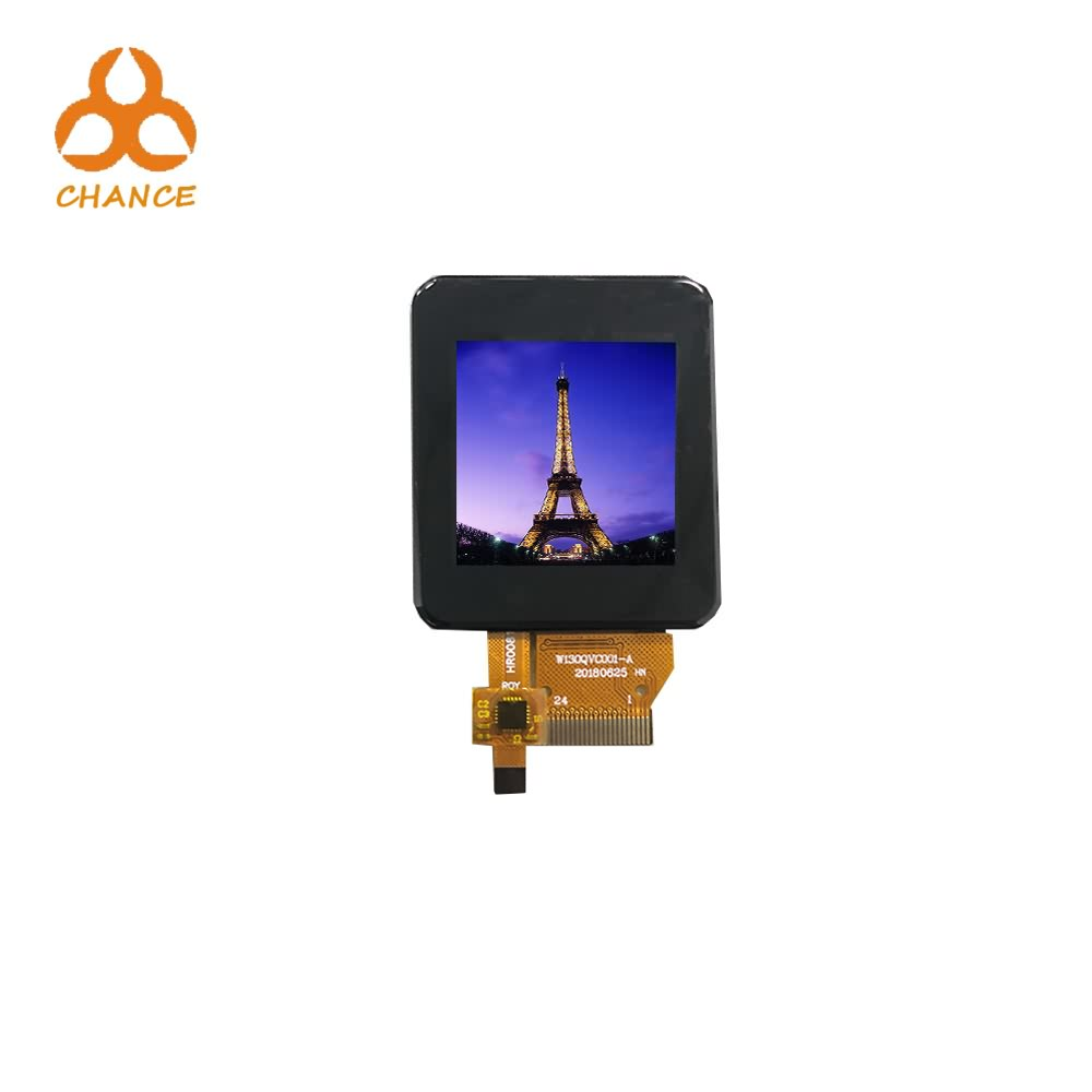 2018 popular 1.3 inch 240 *240 resolution tft lcd display with Capacity Touch Panel at competed price