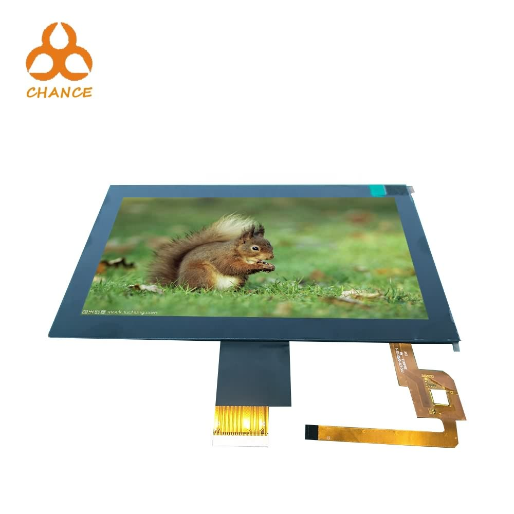 Industrial 1024*600 40pin 7 inch touch lcd  popular in Europe at competed price