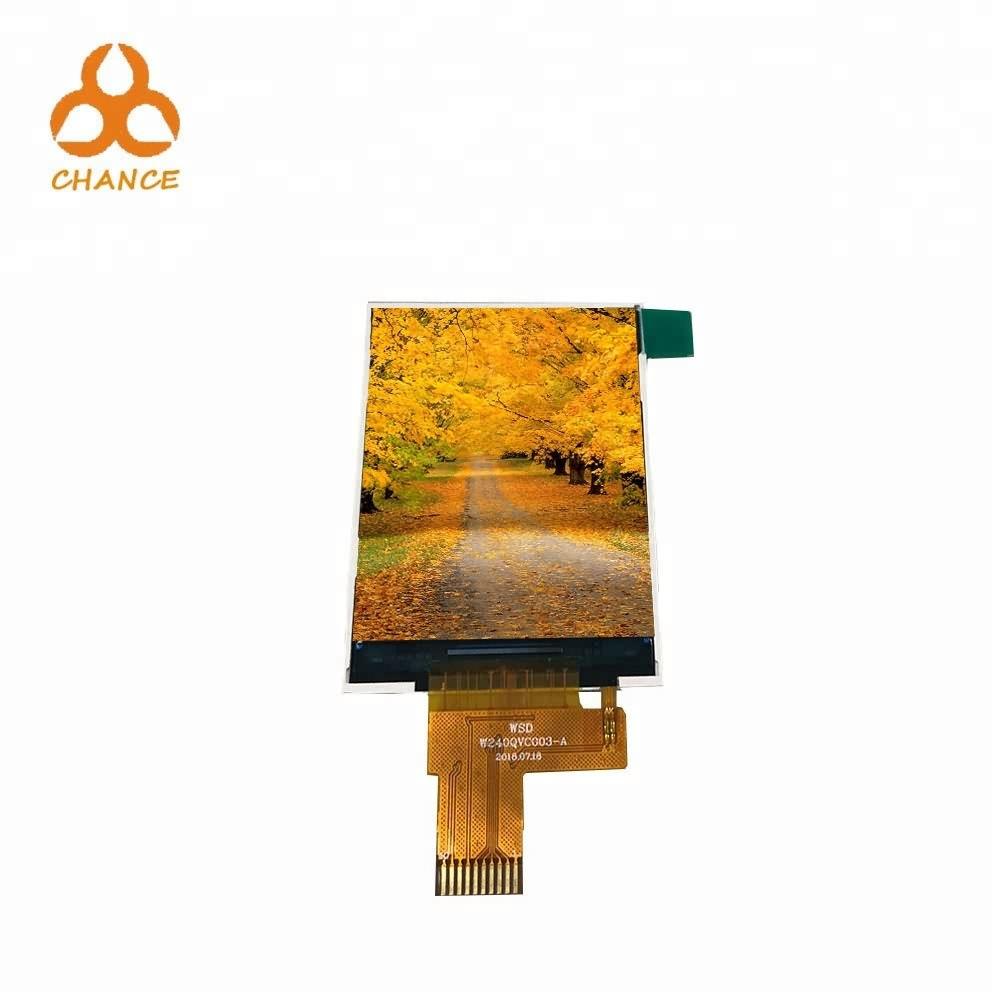2,4 polegadas 240 * venda 320 resolução IPS Spi Interface Module tela LCD quente na Europa