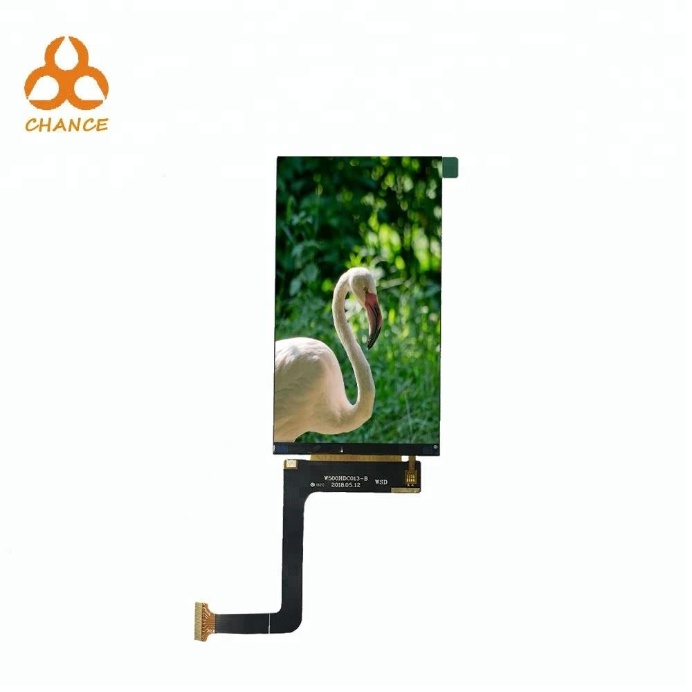 5.0 inch module 720*1280 MIPI interface small screen flexible bus advertising HD ips lcd display panels