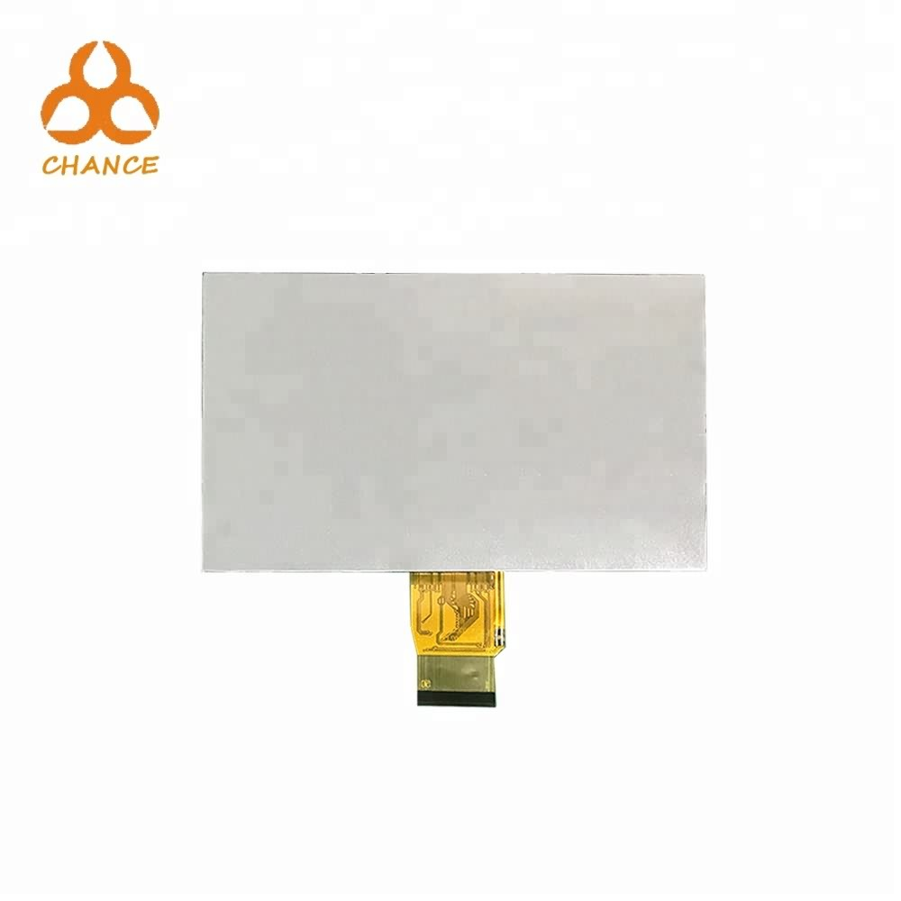 7.0 inch 1024*600 LVDS interface 400nits flexible transparent oem tft lcd display