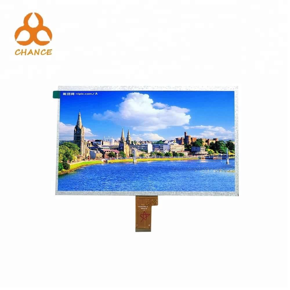 1024*600 high Resolution EK79001+EK73215 IC LVDS Interface 10  tft lcd at competed price