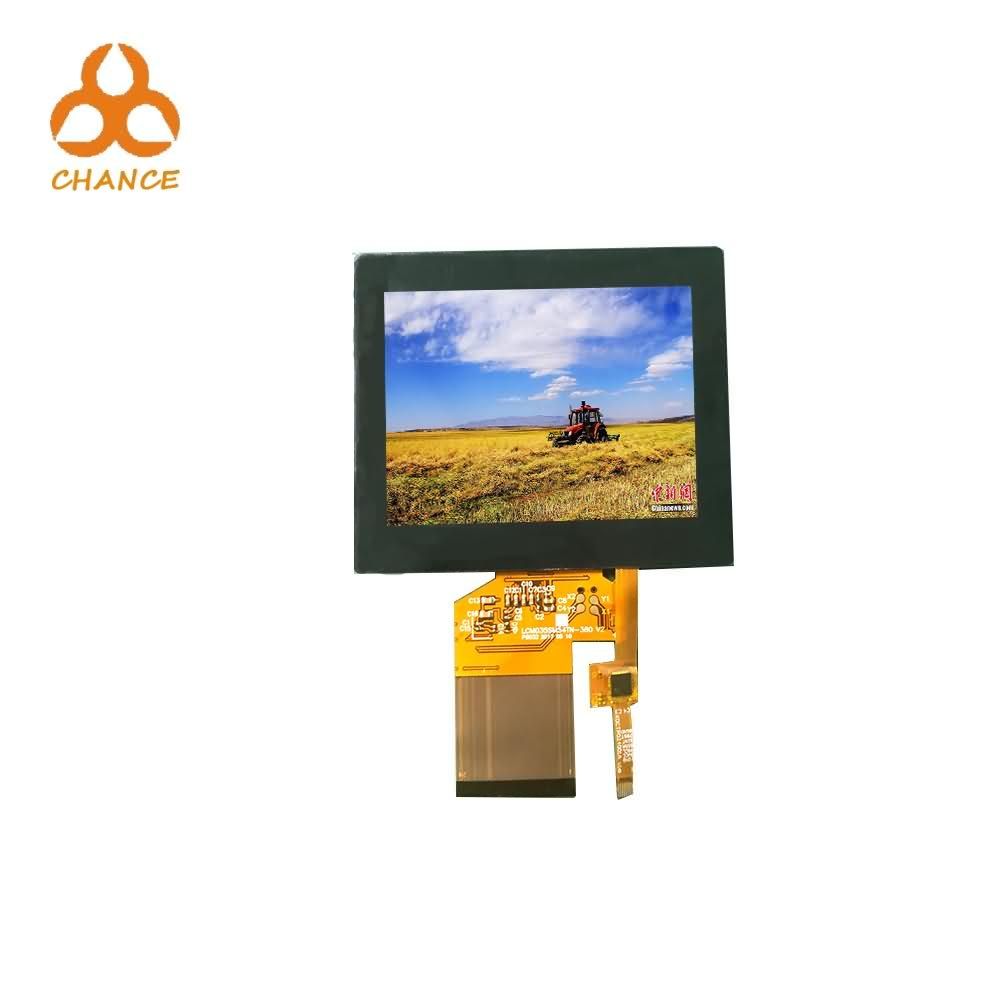 320*240 Resolution SPI+RGB Interface 54pin 3.5 inch lcd touch screen  for electronic products