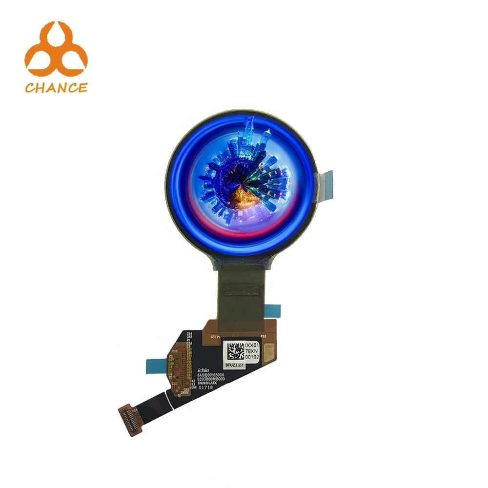 Small flexible  circular OLED 1.39 inch 400*400 MIPI  programmable for  wearable smart watch