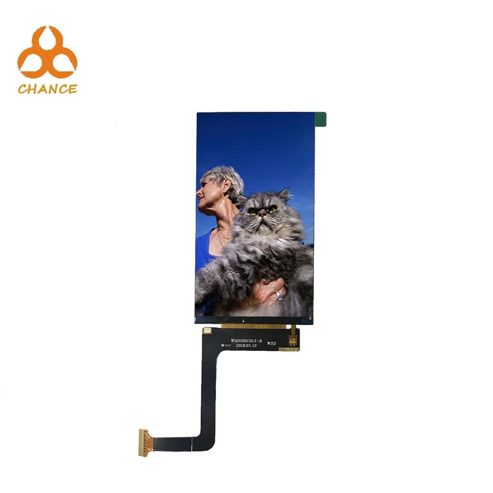 5.0 inch 720*1280 ST7703-G5 MIPI interface IPS full viewing angle flexible video ips tft lcd module