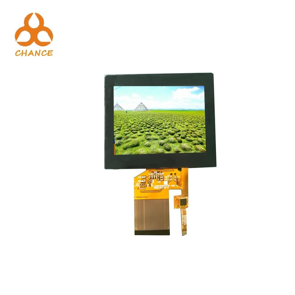 320*240 Resolution SPI+RGB Interface 54pin 3.5 inch touch screen for outdoor application