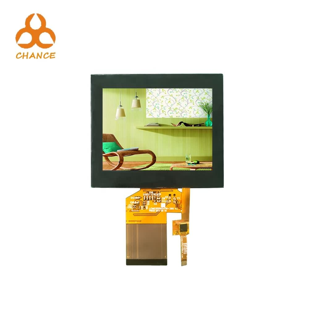 320*240 SPI+RGB Interface bus elevator vending machine 3.5 inch ips tft lcd screen with capacitive touch panel
